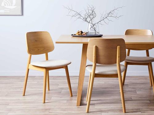 Livi Dining Chair - Oatmeal