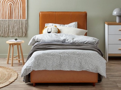 Emmet Bed - Single - Tan