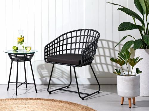 Honolulu Occasional Chair - Black