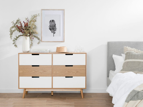 Marlow Six Drawer - Wide