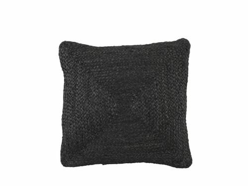 Buddina Cushion Cover - Square - Black