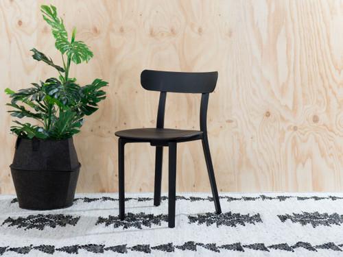 Mack Dining Chair - Black