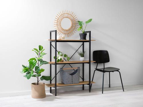 Porto Small Bookcase - Black