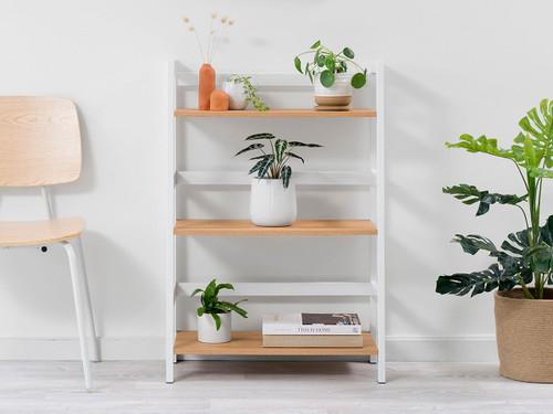 Porto Three Shelves - White