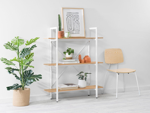 Porto Small Bookcase - White