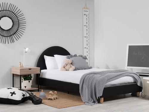 Dani Bed - Single - Black