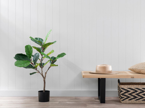 Fiddle Leaf Artificial Plant