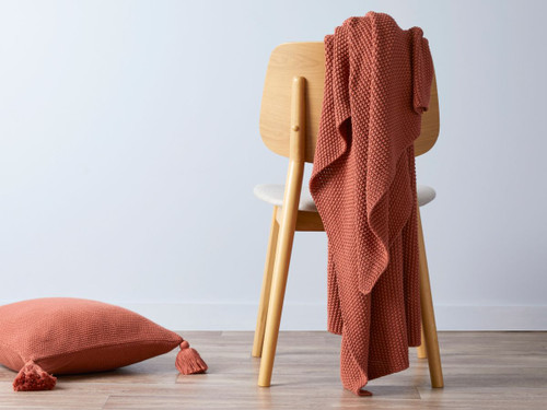 Esther Throw - Rust