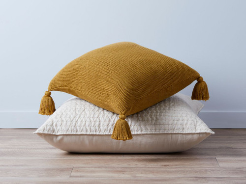 Esther Cushion Cover - Mustard