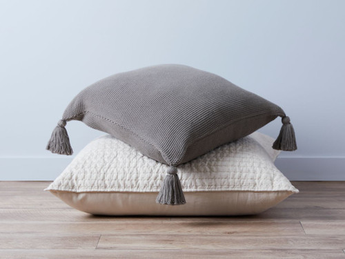 Esther Cushion Cover - Charcoal
