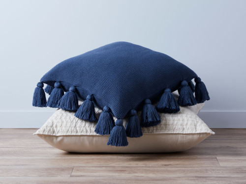Clementine Cushion Cover - Navy