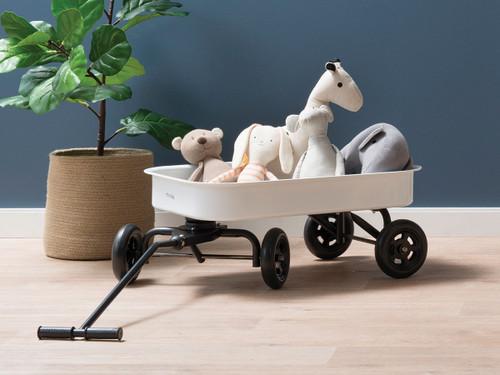 Kids Steel Wagon - White