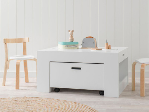 Kids Activity Play Table - White