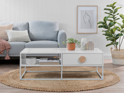 Eclipse Coffee Table - White