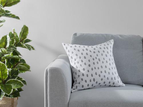 Kiara Spot Cushion Cover - Grey