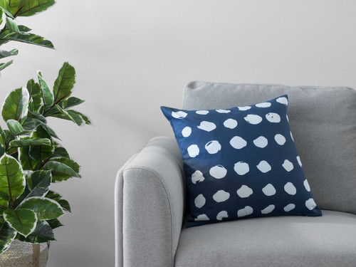 Claire Spot Cushion Cover - Ink