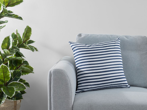 Manning Stripe Cushion Cover - Ink