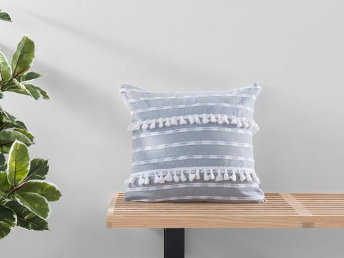 Bria Cushion Cover - Square - Grey