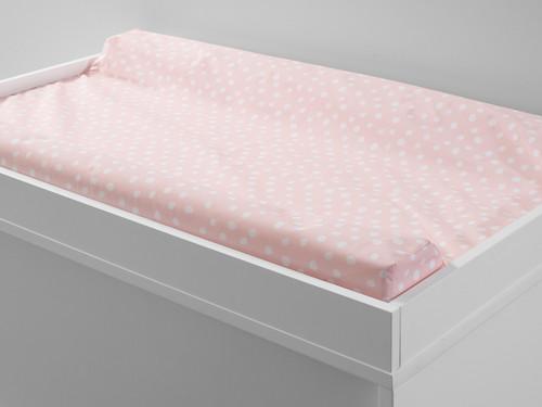 Mocka Change Mat Cover - Pink Spot
