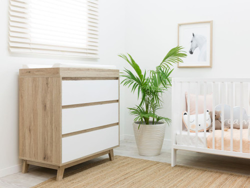 Jesse Change Table With Drawers Package