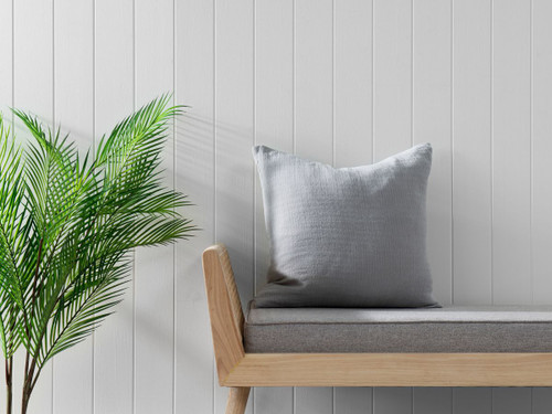 Ava Cushion Cover - Charcoal