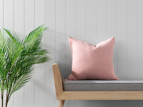 Ava Cushion Cover - Soft Pink