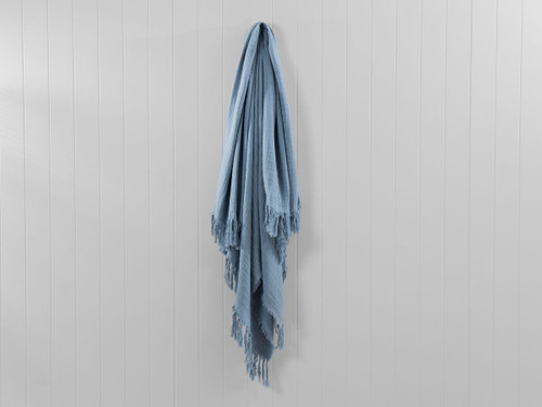 Ava Throw - Bay Blue