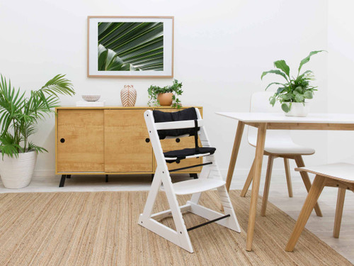 Soho Wooden Highchair - White