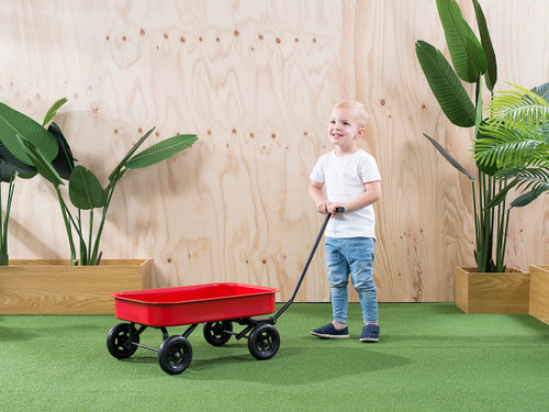Kids Steel Wagon - Red