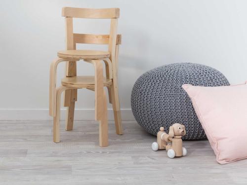 Hudson Kids Chairs- Set of 2 - Natural