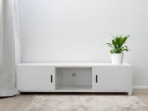 Mocka Essentials Entertainment Unit - White Doors