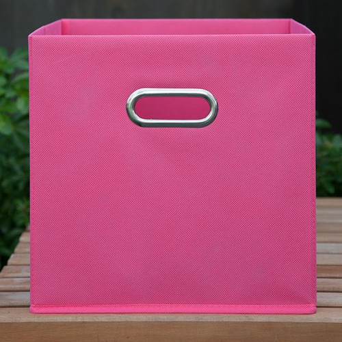 Fabric Boxes - Pink