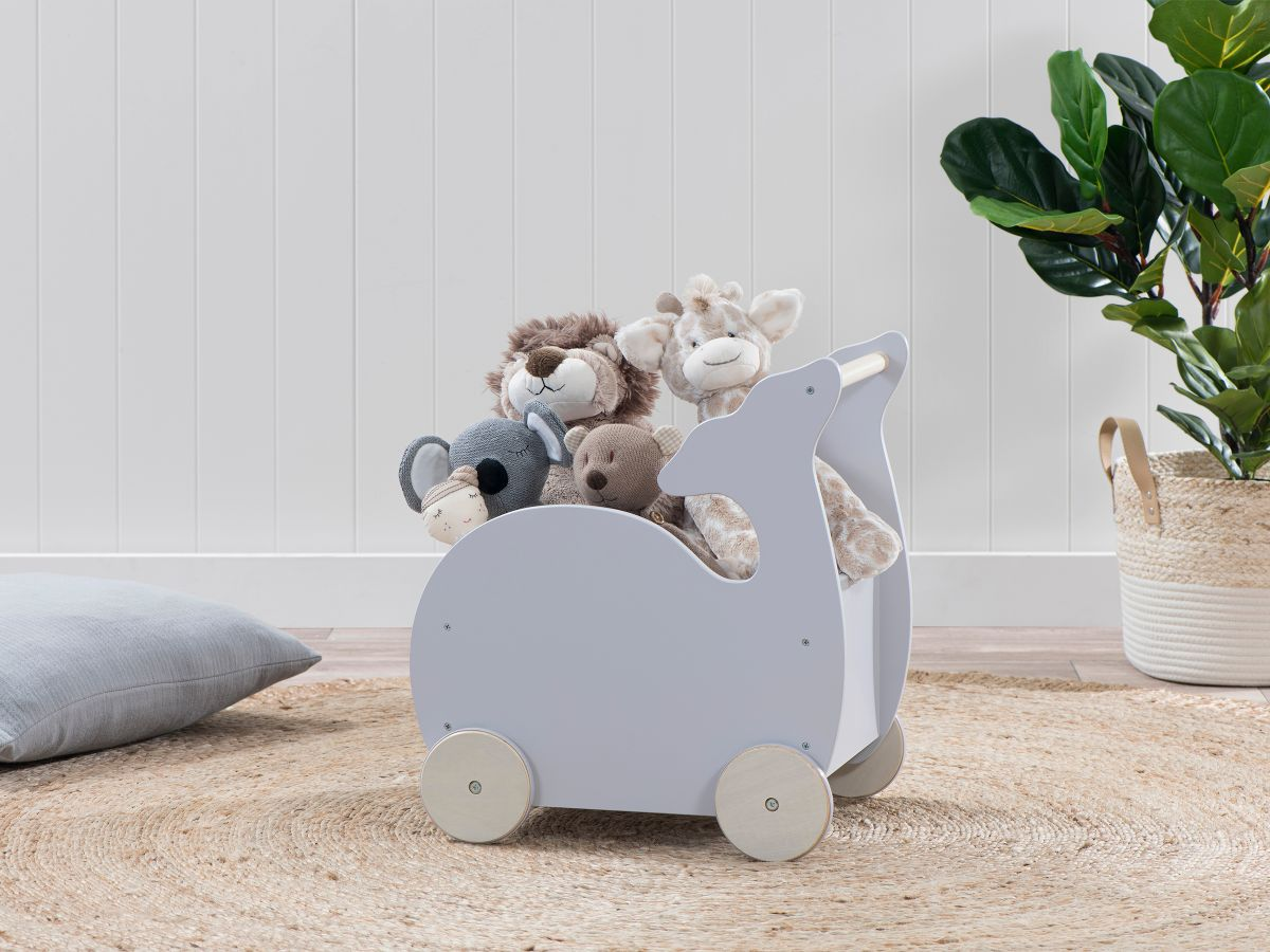 Whale Toy Cart