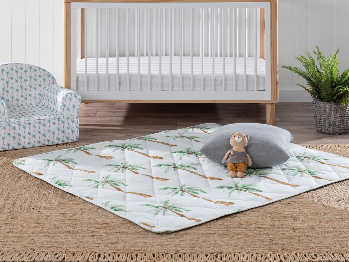 Mocka Play Mat Blanket - Palm Tree