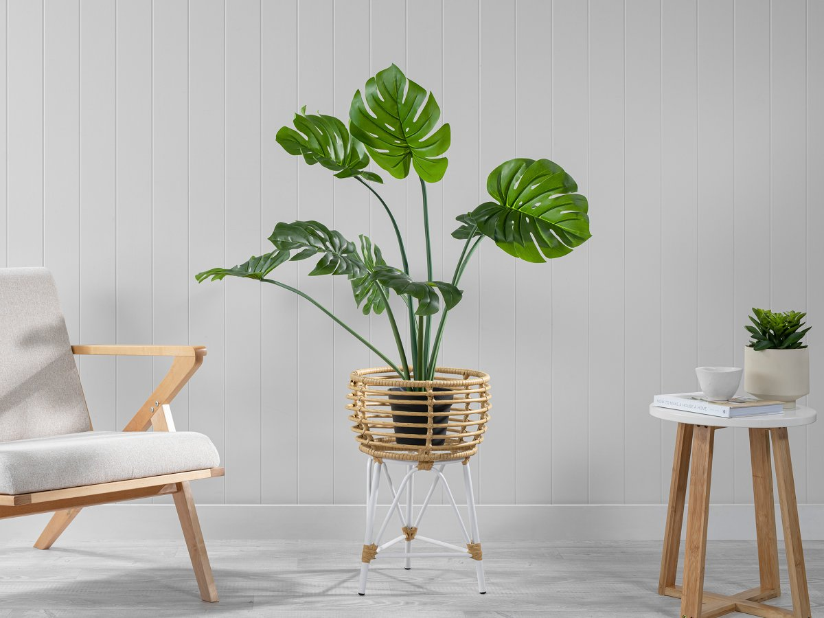 Honolulu Plant Stand - Small - White