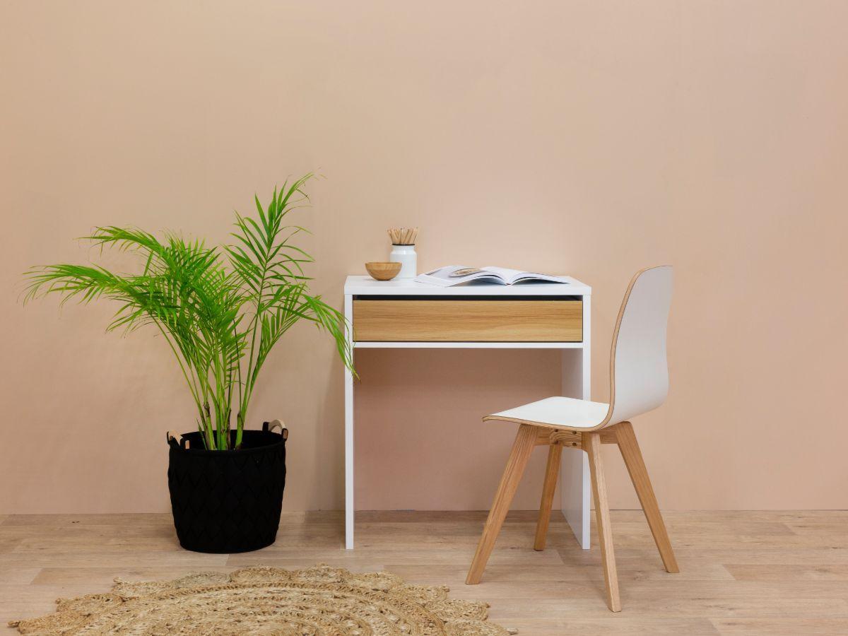 Jordi Desk - White / Natural