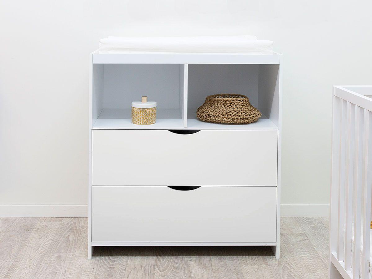 Brooklyn Change Table - White