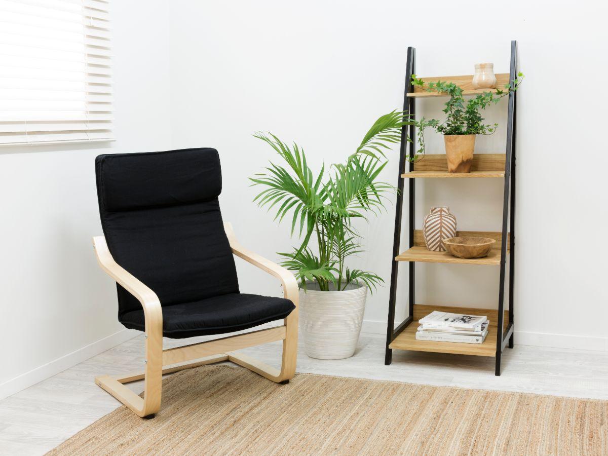 Urban Ladder Shelf - Black