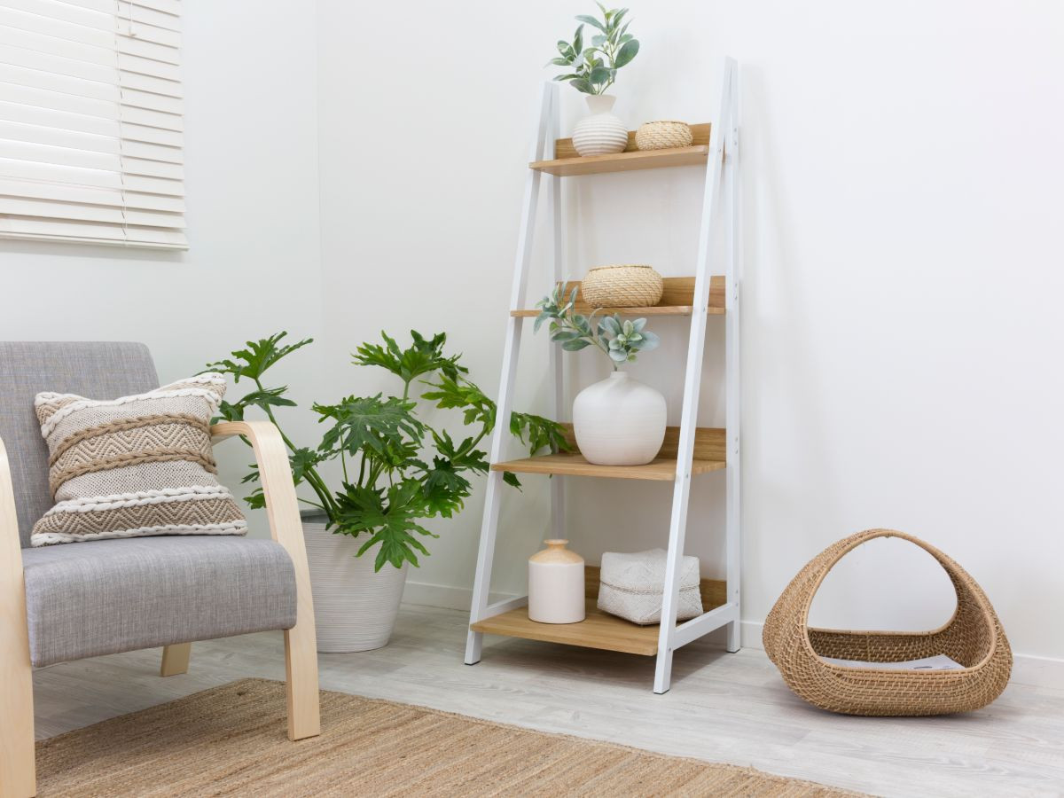 Urban Ladder Shelf - White