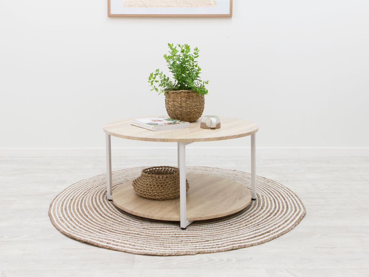 Vigo Coffee Table - White
