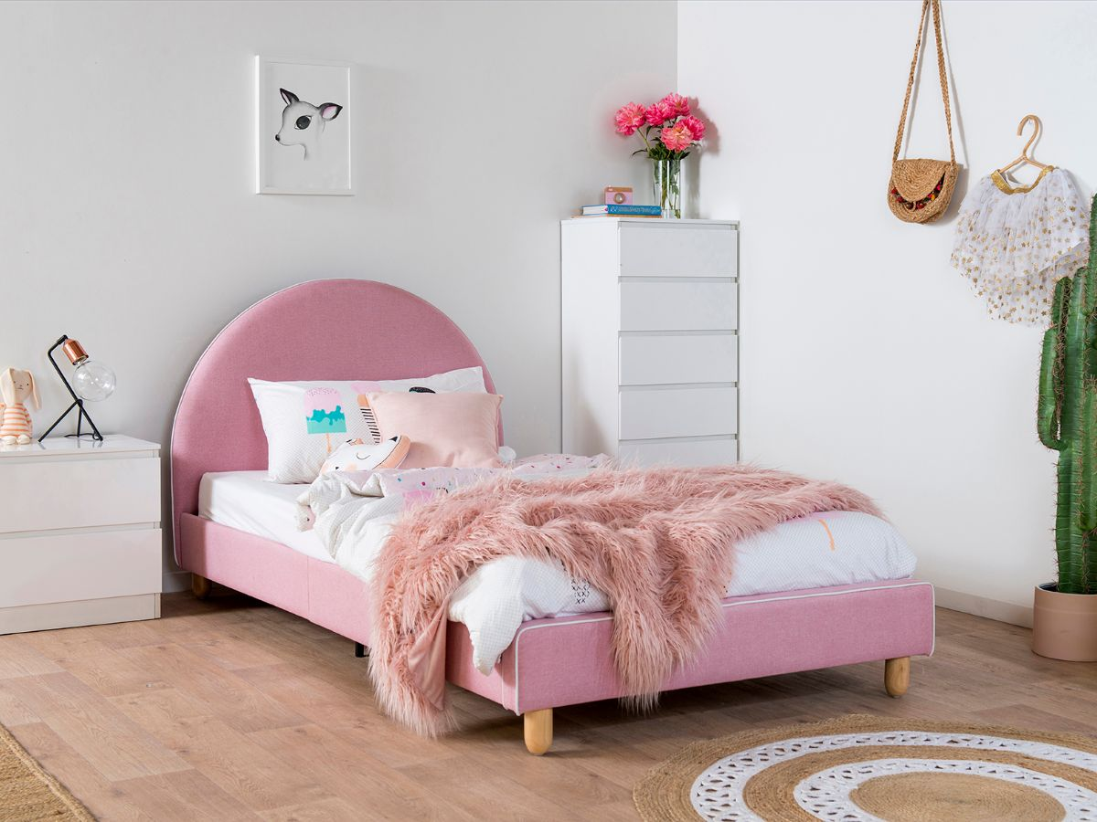 Dani Bed - King Single - Pink