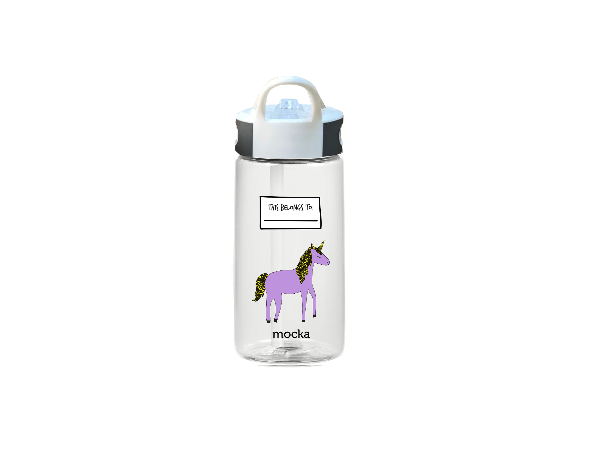 Kids Drink Bottle - Unicorn