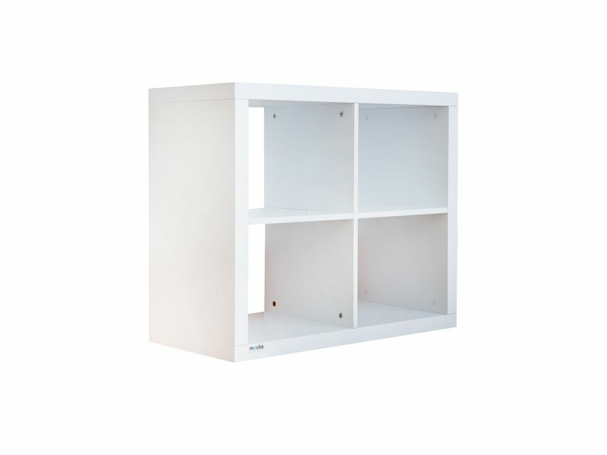 Luna 4 Cube Storage - White