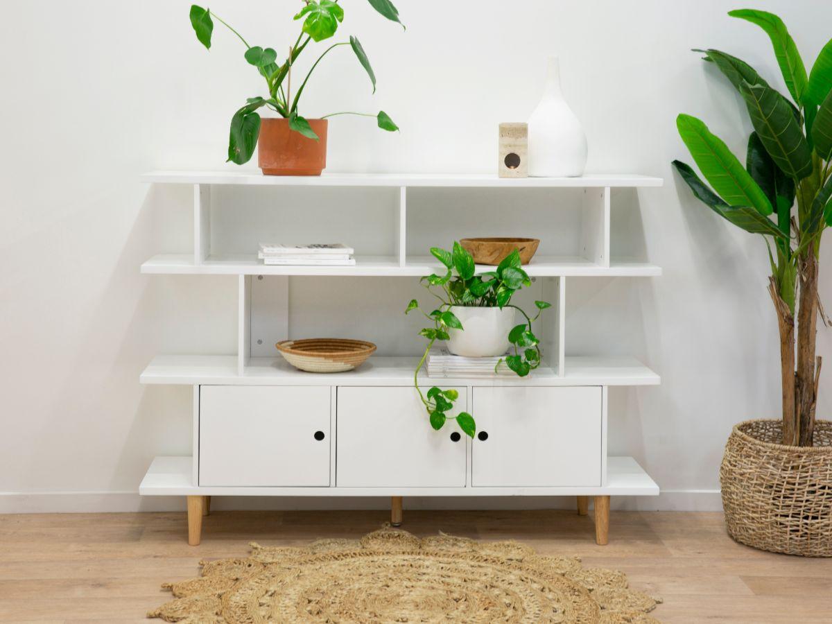 Oli Bookcase - White