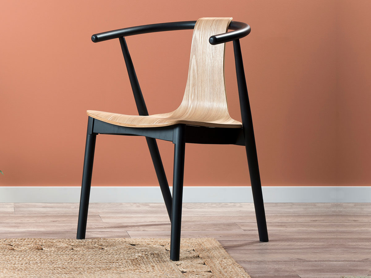Winnie Chair - Black/Natural