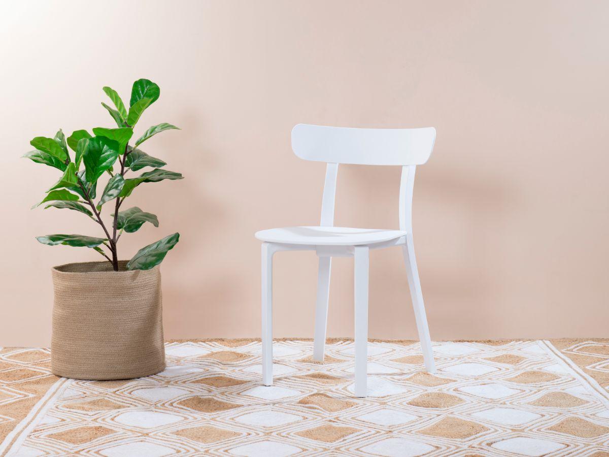 Mack Dining Chair - White