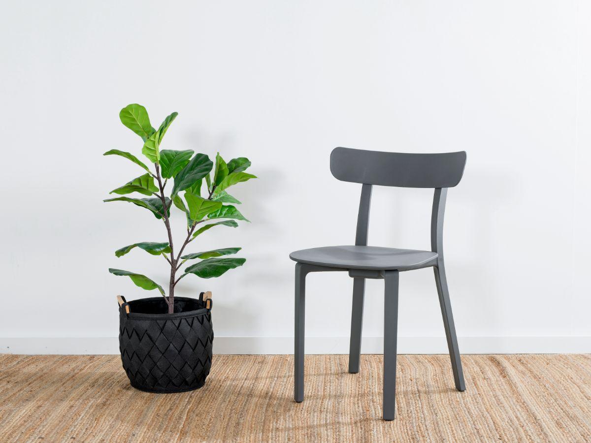Mack Dining Chair - Grey