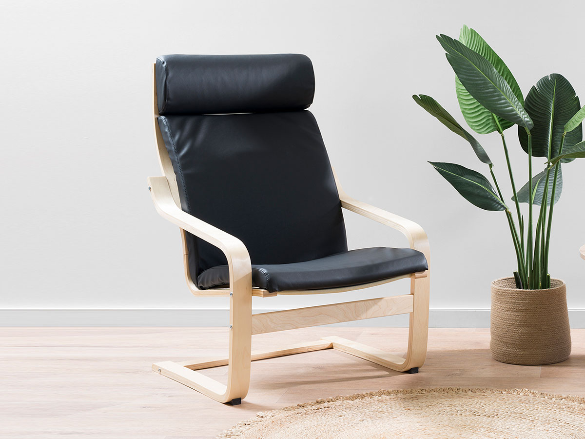 Asta Luxe Chair - Black