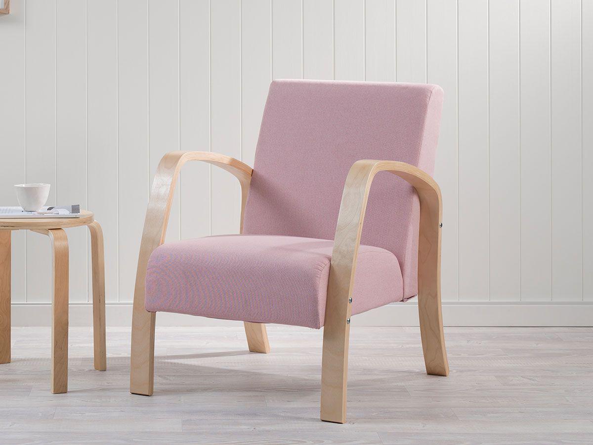 Britta Armchair- Pink