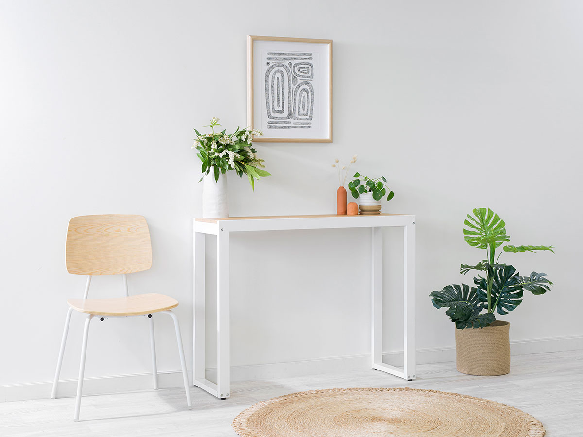 Porto Console Table - White